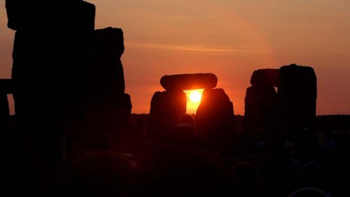 BRITAIN-LIFESTYLE-TRADITION-ARCHAEOLOGY-SOLSTICE