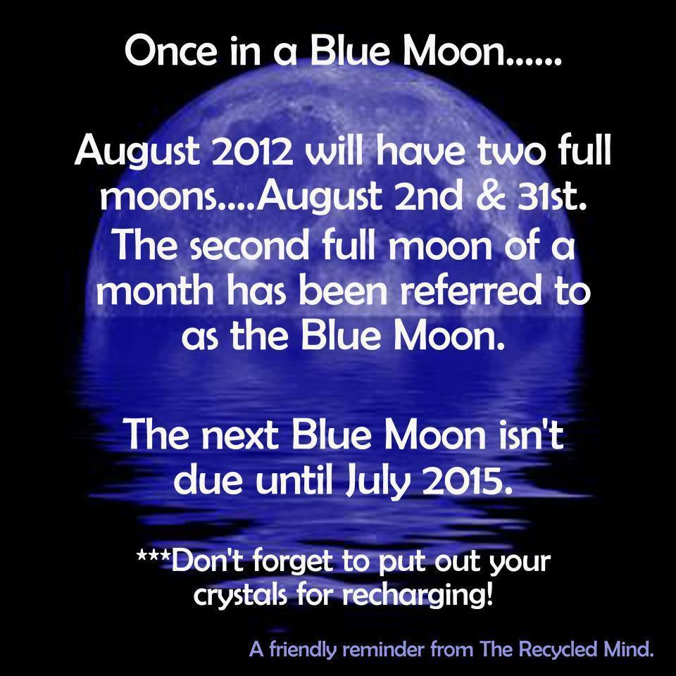 Blue Moon Science It Is What It Is