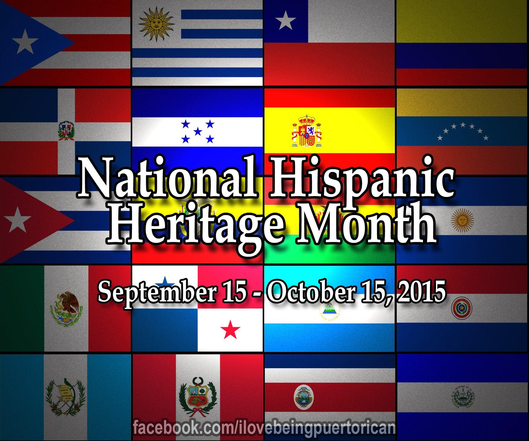National Hispanic Heritage Month 2015