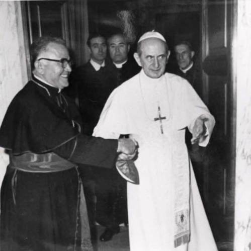 Luis Aponte Martinez and Pope Paul VI