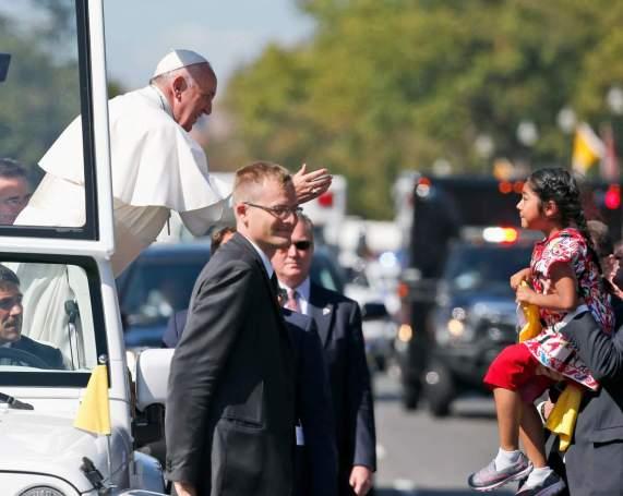 Pope Francis, Sophie Cruz
