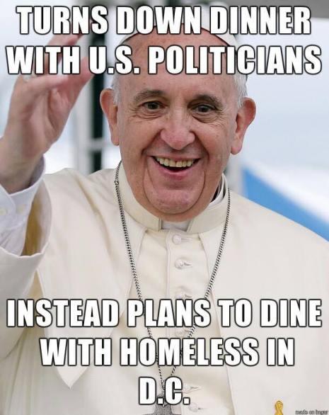 PopeHomeless