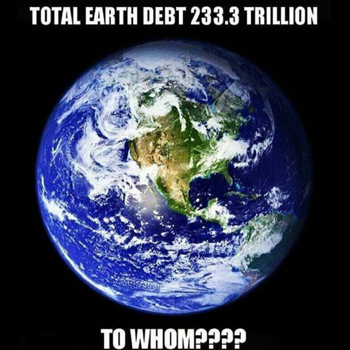 Image result for who does the world owe money to