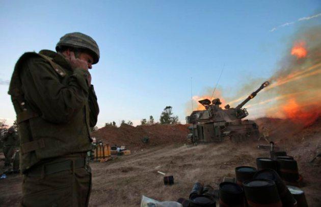 ISRAEL BOMBING GAZA STRIP