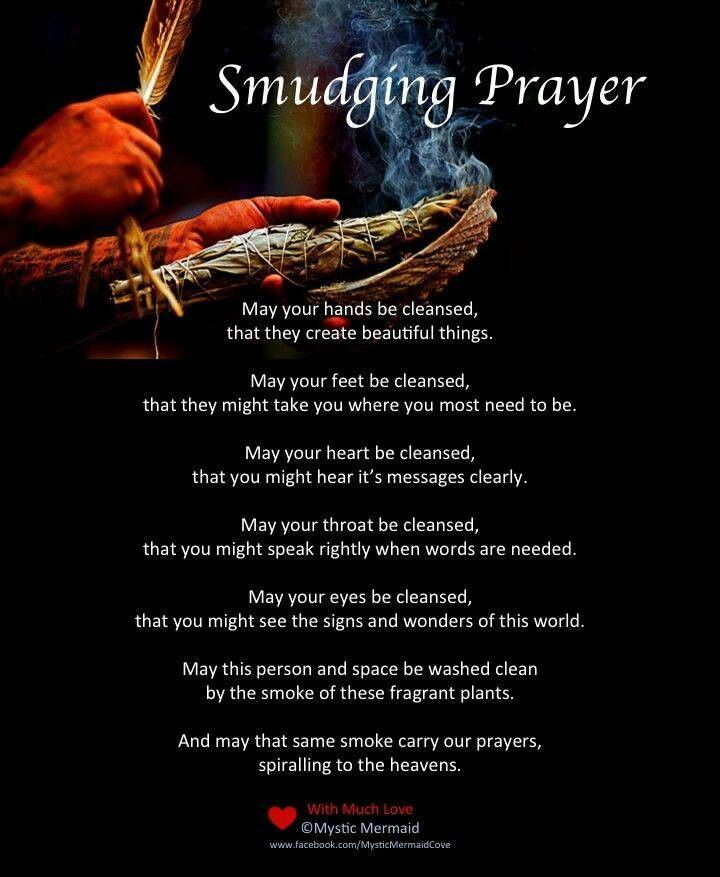 """Thoughts For Today, #258 …. """"Smudging Ceremony .. Smudging"""