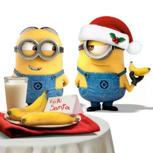 "At the end of the day …. ""Minions For Christmas""!! 