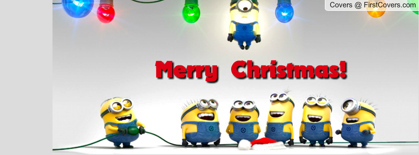 "Funny Minion Merry Christmas Wallpapers Sayings: At The End Of The Day …. ""Minions For Christmas""!!"