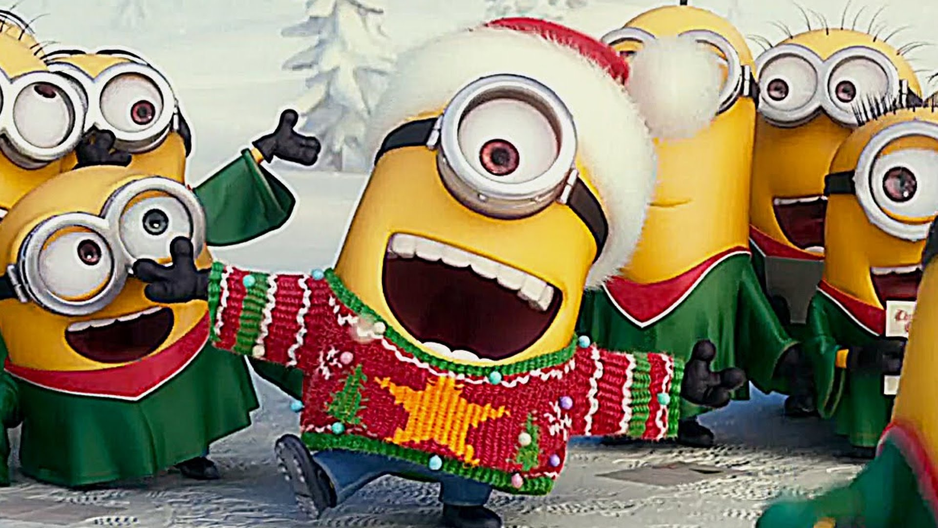 """At the end of the day …. """"Minions For Christmas""""!! 