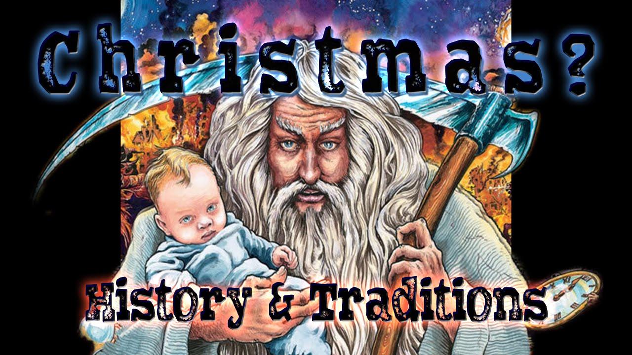 pagan origin of the christmas tree
