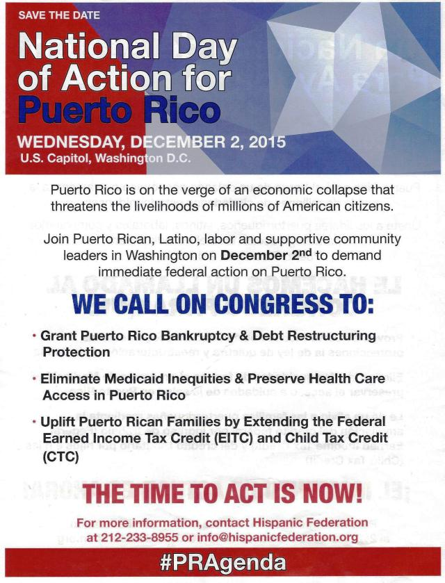 PR National Day for Action