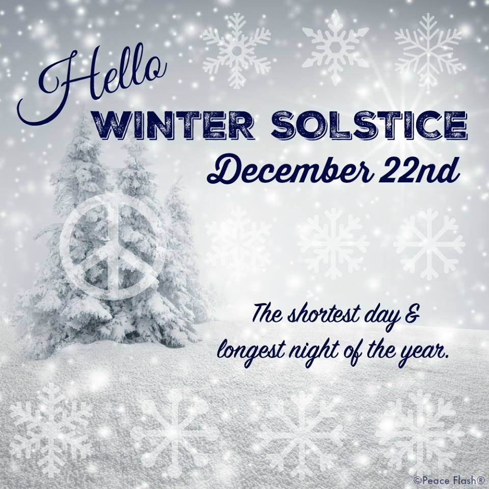 At The End Of The Day Winter Solstice December 21 2015 It