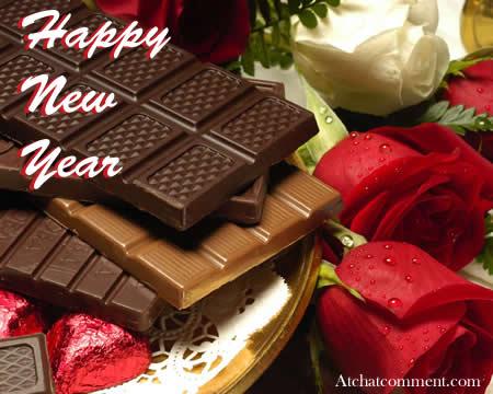 Happy New Year Chocolate