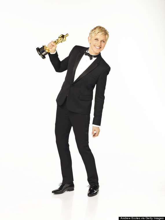 ABC's Portraits Of The 86th Annual Academy Awards Host Ellen DeGeneres