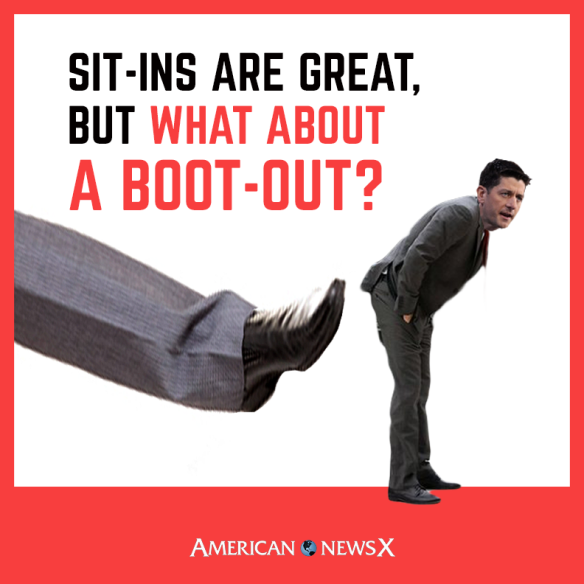 Sit-Ins are great, but what about a Boot-Out?