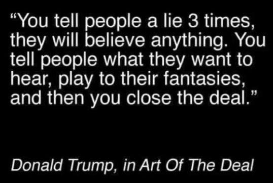 trump lie