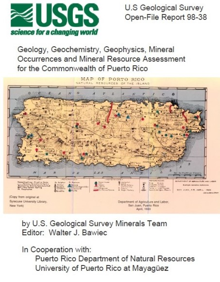 USGS PR Map