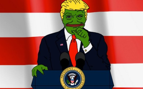 Pepe the Frog meme was wildly popular among 'normies'—until white nationalists decorated him with swastikas and gave him a Trump button.