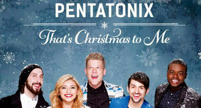"Christmas Eve …. Pentatonix …. ""That's Christmas to me …. ""!! 