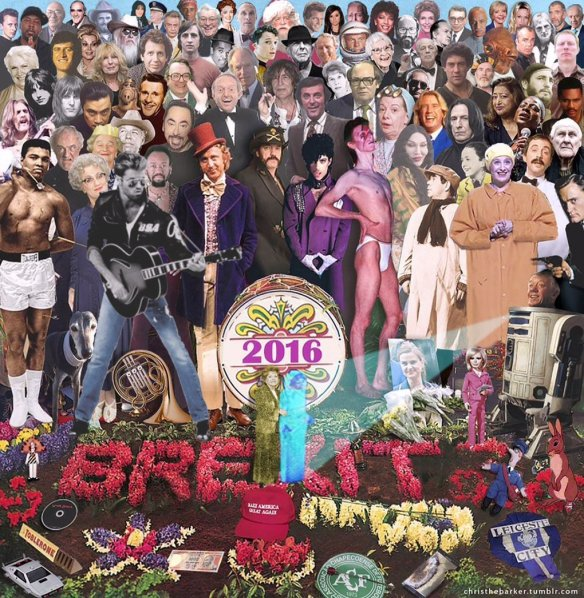 Transforming Beatles Album Cover 'Sgt Pepper's Lonely Hearts Club Band' - by Chris Parker