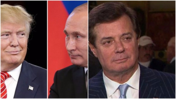 Trump-Putin-Paul Manafort, Another, Russian connection; he lives in Trump Towers and was Trump's campaign mgr.