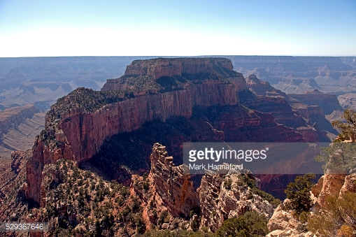 USA, Arizona, Grand Canyon National Park.   View from Cape Royal viewpoint