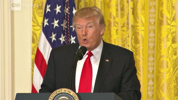 Donald Trump at 02-16-2017 press conference