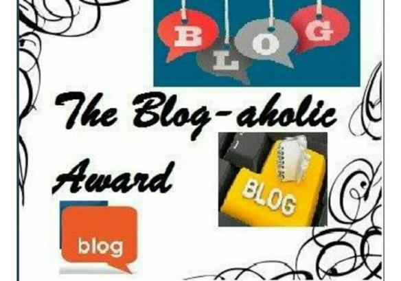 Blog-aholic Award