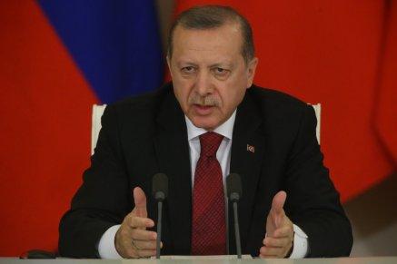 Russian President Vladimir Putin Receives Turkish President Erdogan