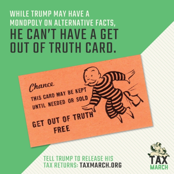 While Donald Trump may have a monopoly on alternative facts, he can't have a Get Out of Truth card.