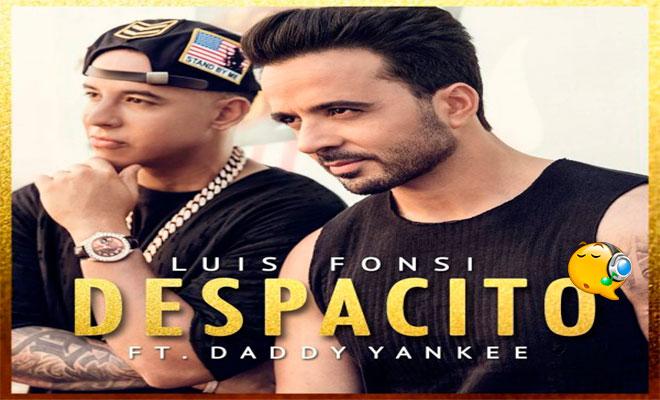 Despacito luis fonsi featuring daddy yankee despacito luisfonsi daddyyankee songprimarilyinspanish topbillboardhot100 since1996 macarena slowly hitsingle puertoricanpopartist stopboris Images