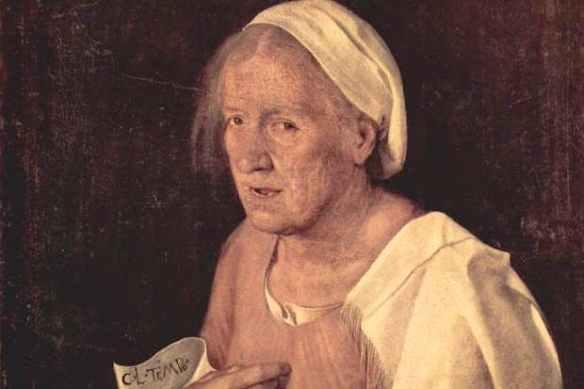 'La Vecchia' (c.1506) by Giorgione