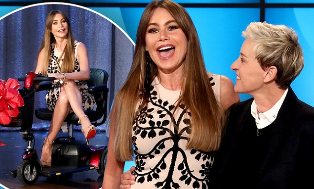 ELLEN - Sofia Vergara, Jimmy Kimmel, Jamie Foxx and Chance the Rapper Celebrate Ellen's 60th