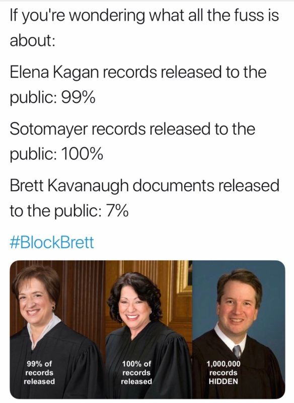 "Borowitz Report …  ""🇺🇸🤔 What Is Brett Kavanaugh Hiding"