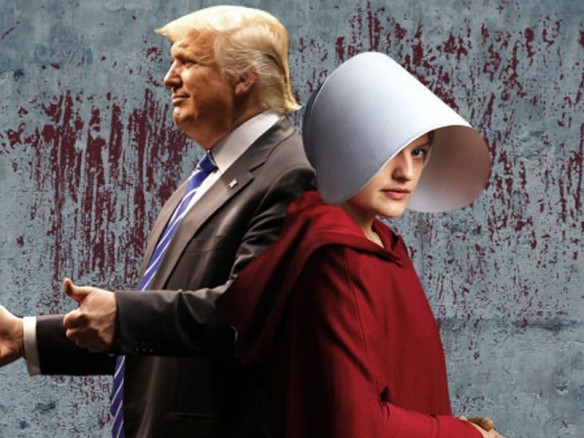 Donald Trump Handmaids Tale