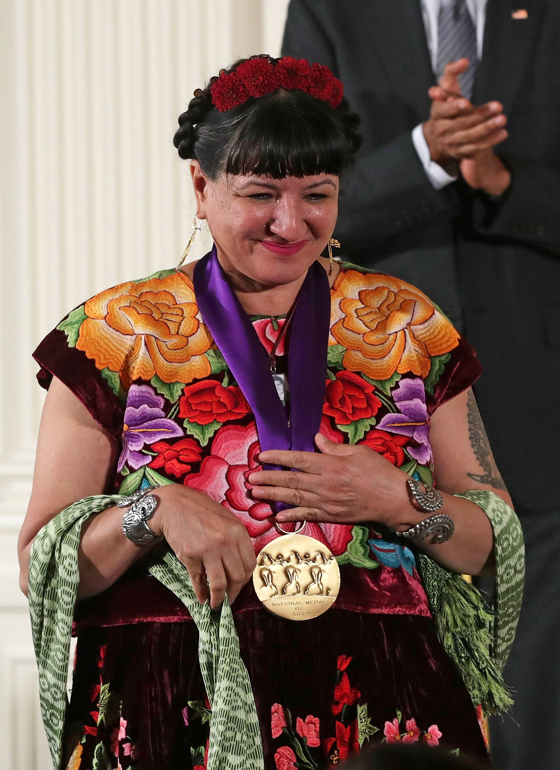 Image: President Obama Awards 2015 National Medal Of Arts And National Humanities Medal