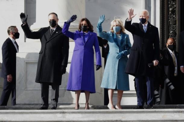 Kamala Harris Husband Doug, Dr Jill Biden and Joe Biden