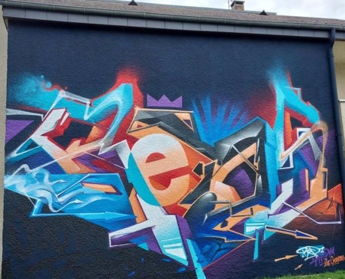 Brittany, Graffiti, Street Art