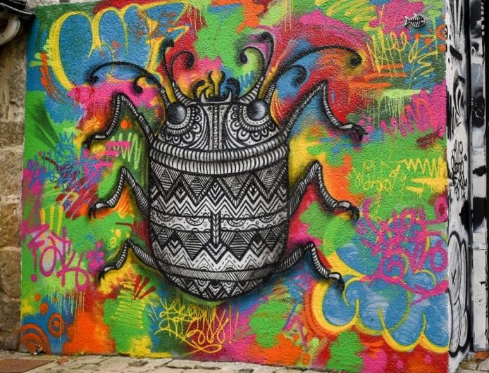 Brittany, Graffiti, Street Art.